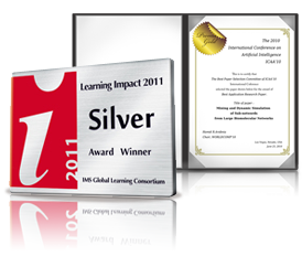 Learning Impact 2011 Silver Award Winner
